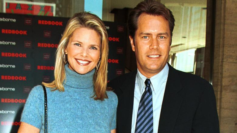 Christie Brinkley y Peter Cook