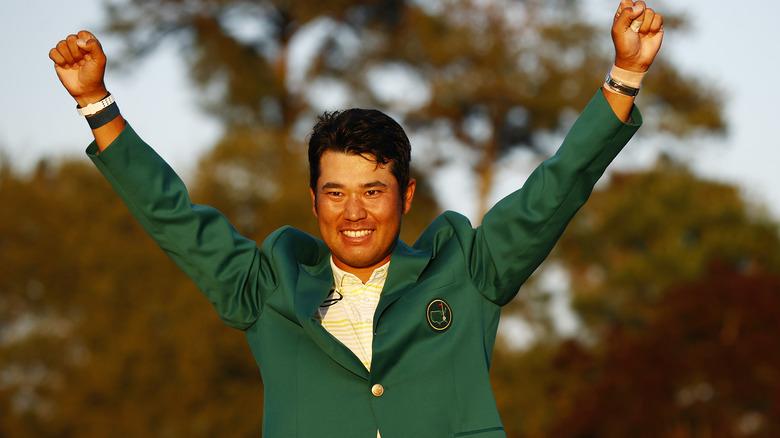 Chaqueta verde Hideki Matsuyama Masters