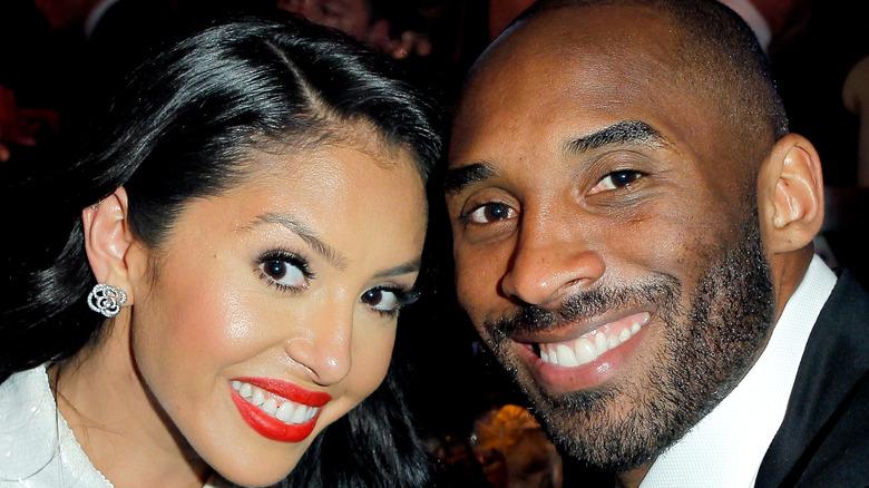 Kobe y Vanessa Bryant en un evento