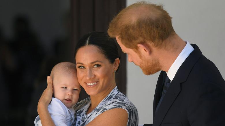 Archie, Meghan Markle, el príncipe Harry