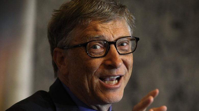 Bill Gates hablando