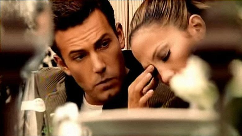Jennifer Lopez y Ben Affleck en el video musical de 'Jenny From The Block'