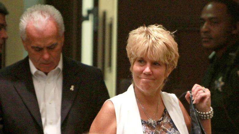 George y Cindy Anthony en la corte