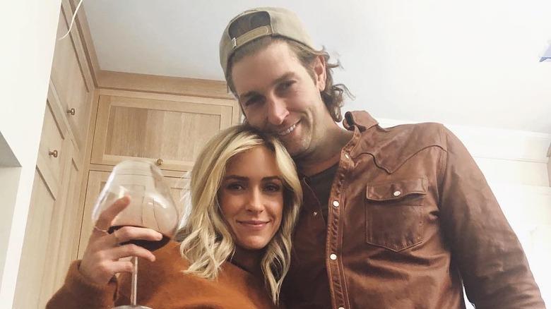 Kristin Cavallari y Jay Cutler en una foto de Instagram