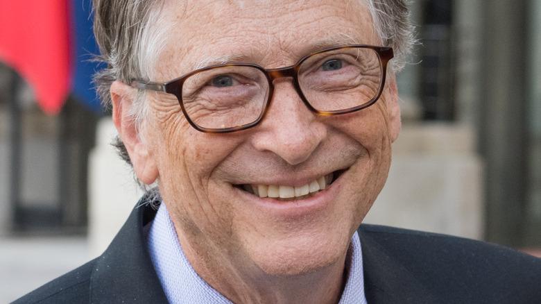Bill Gates sonriendo