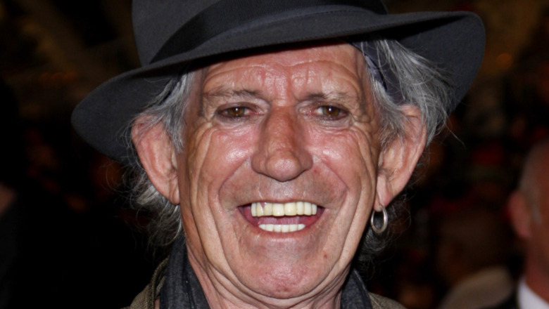 La cara de Keith Richards