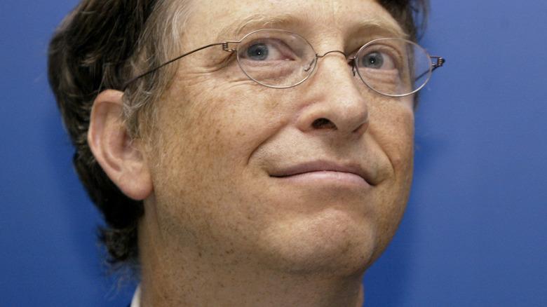 Ojo lateral de Bill Gates
