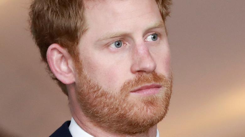 Príncipe Harry ojos azules