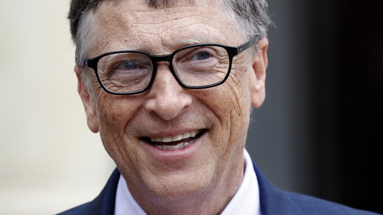 Bill Gates, posando