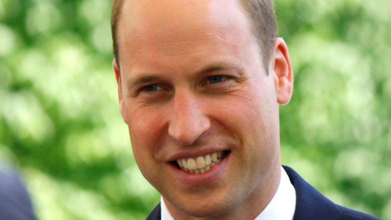 Sonrisa del príncipe William