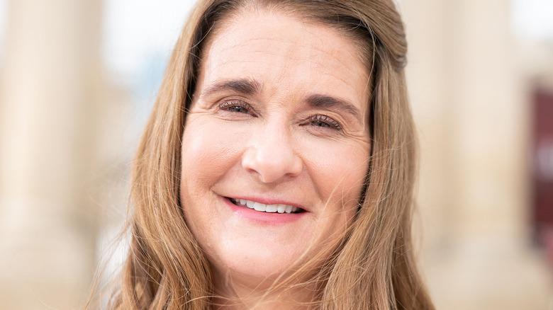 Melinda Gates sonriendo