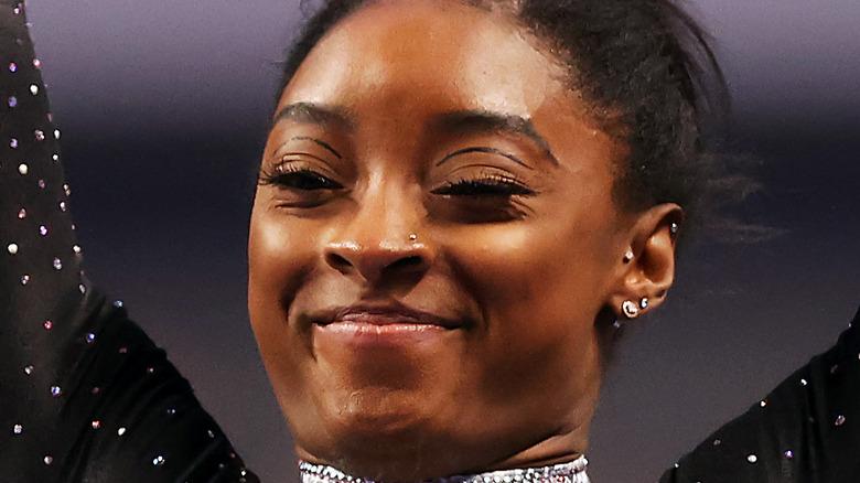 Simone Biles en el Campeonato de Gimnasia de EE. UU. 2021