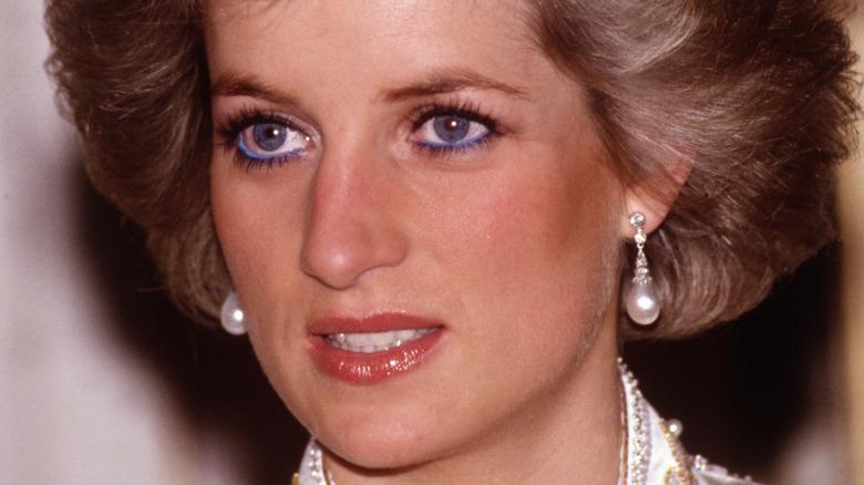 Princesa Diana posando