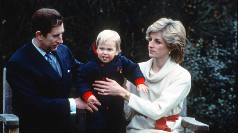 Príncipe Carlos, Princesa Diana, Príncipe William, Palacio de Kensington, 1982