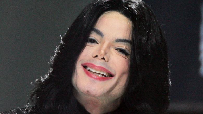 Michael Jackson sonriendo