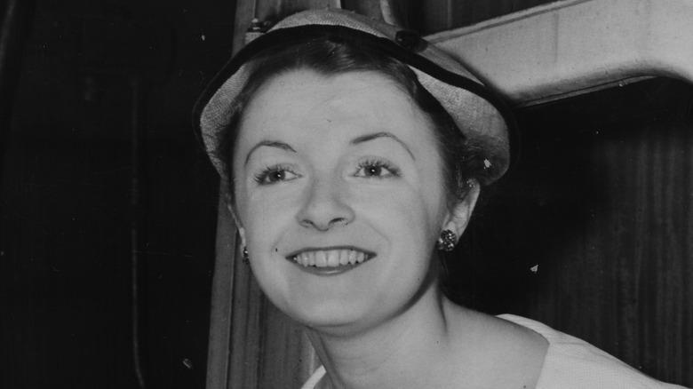 Jane Wenham sonriendo