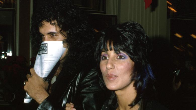 Gene Simmons y Cher