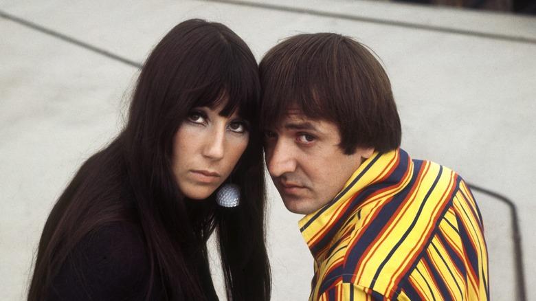 Sonny Bono y Cher en 1973