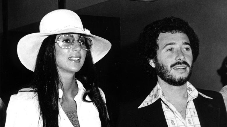 Cher y David Geffen en 1973