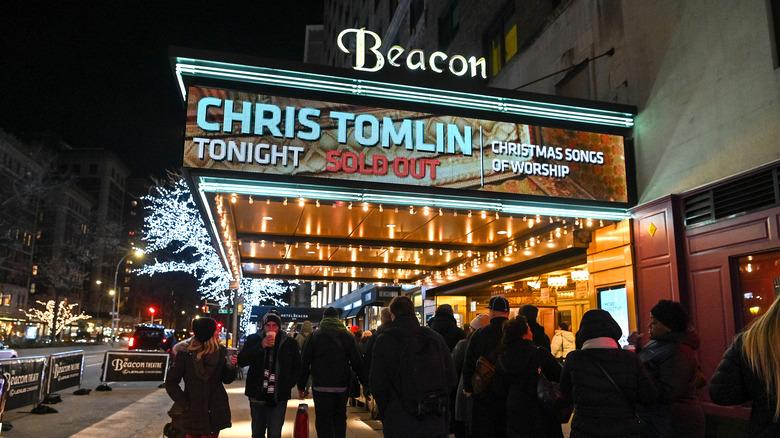 Cartel de concierto de Chris Tomlin agotado
