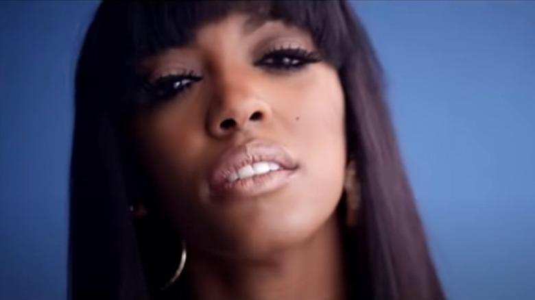 Porsha Williams en el video musical Flatline