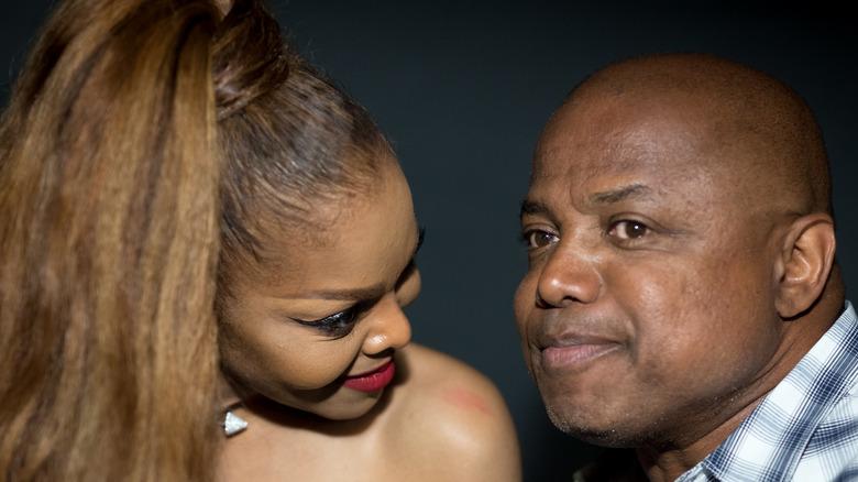 Janet y Randy Jackson