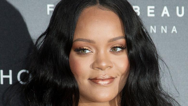 Rihanna en un evento de Fenty