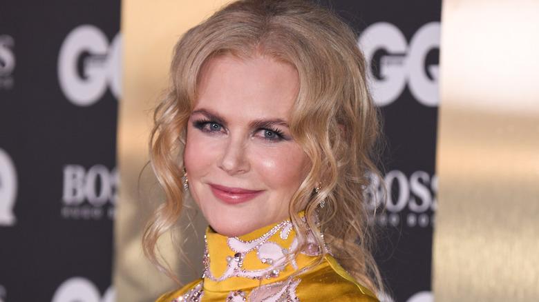 Nicole Kidman sonriendo
