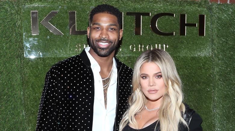 Khloe Kardashian y Tristan Thompson juntos