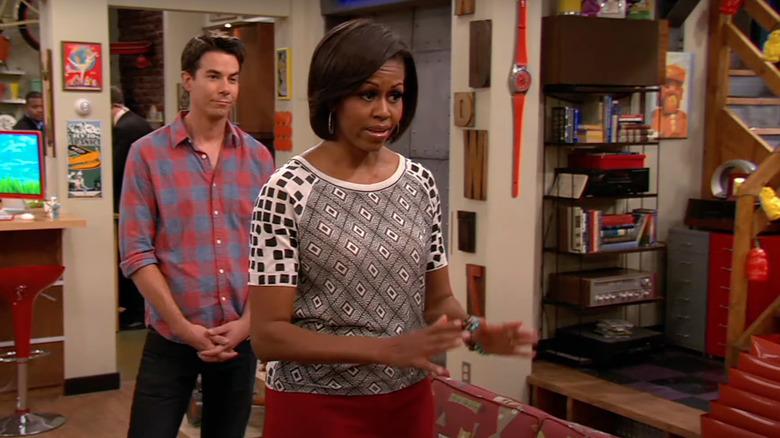 Michelle Obama en iCarly