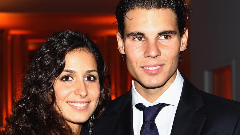 Xisca Perello y Rafael Nadal