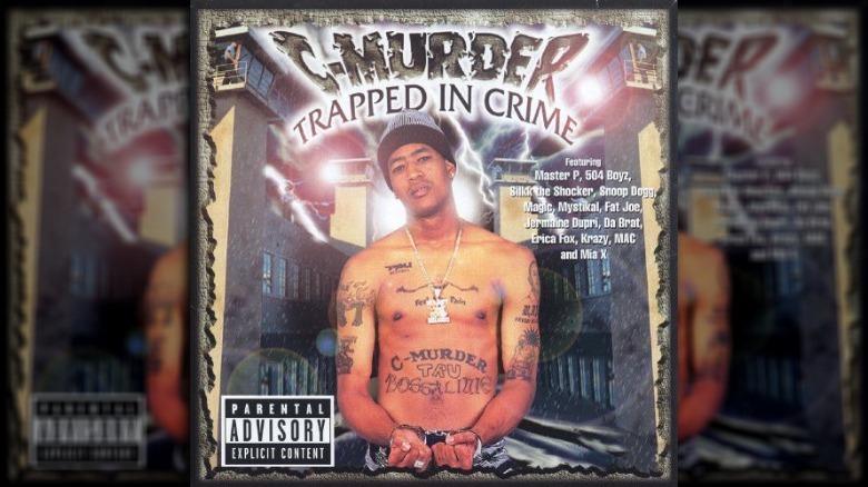 C-Murder en la portada del álbum