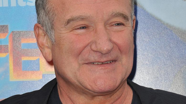 Robin Williams sonriendo