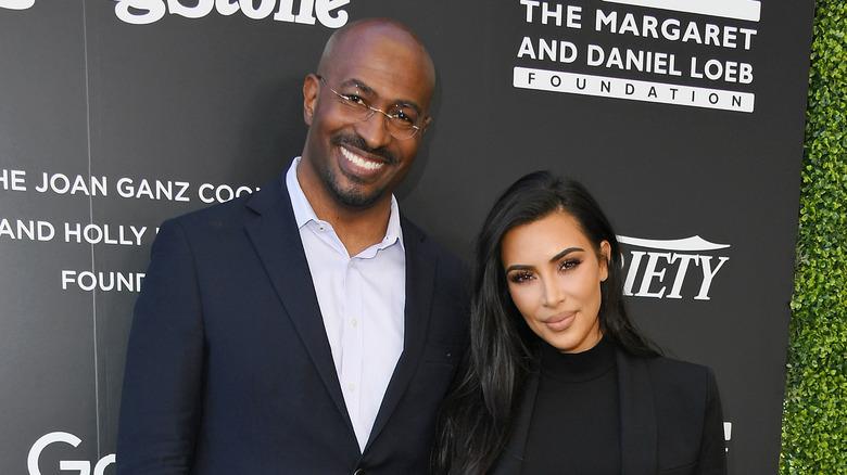 Van Jones y Kim Kardashian