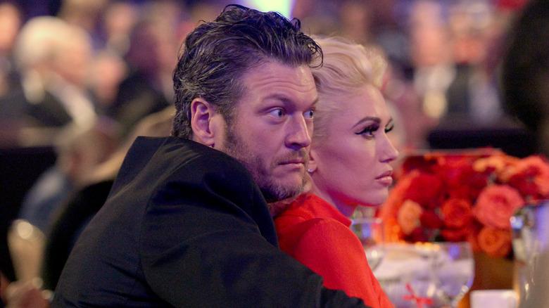 Gwen Stefani Blake Shelton triste
