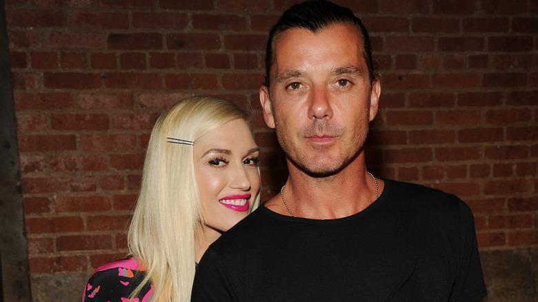 Gwen Stefani y Gavin Rossdale sonriendo