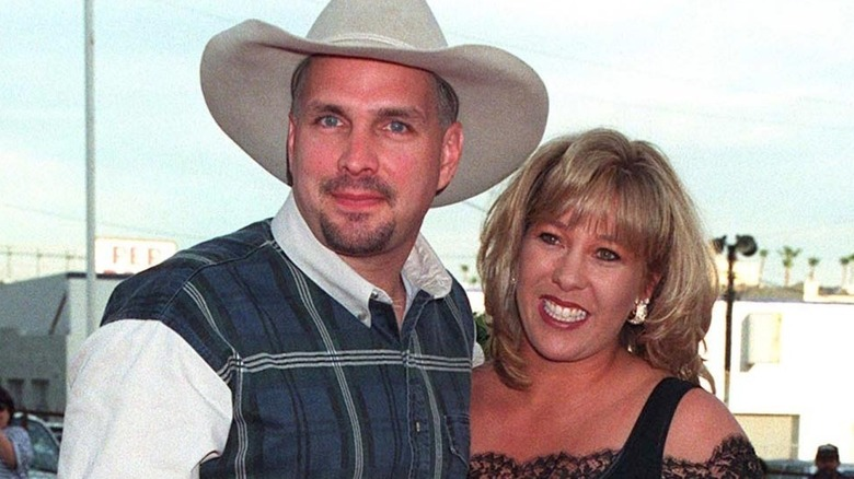 Garth Brooks y Sandy Mahl