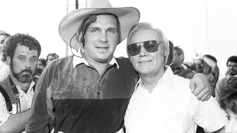 Garth Brooks y George Jones en Fan Fair