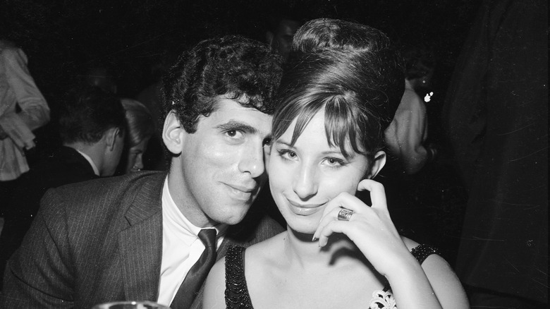 Barbra Streisand con ex Elliot Gould