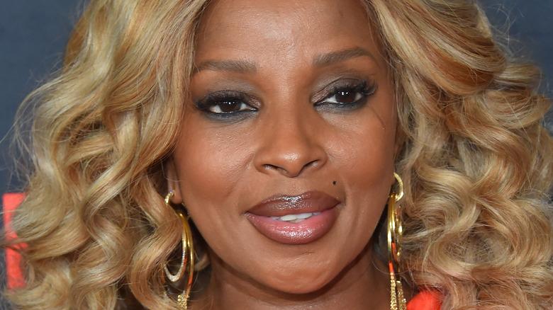 Mary J. Blige sonriendo