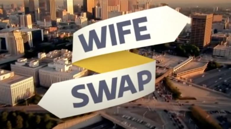 """Tarjeta de título """"Intercambio de esposas"""""""