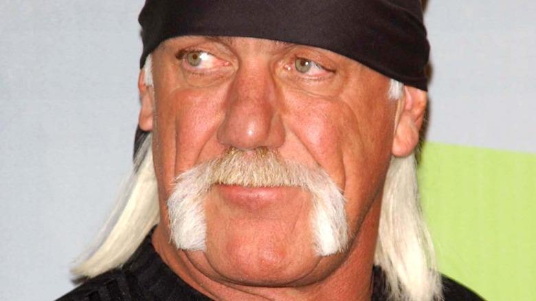 Hulk Hogan posando