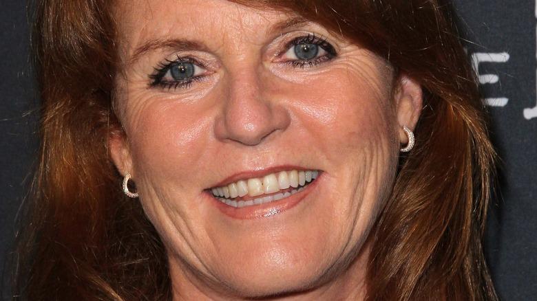 Sarah Fergie Ferguson sonriendo