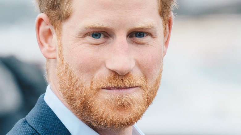 Príncipe Harry barba roja