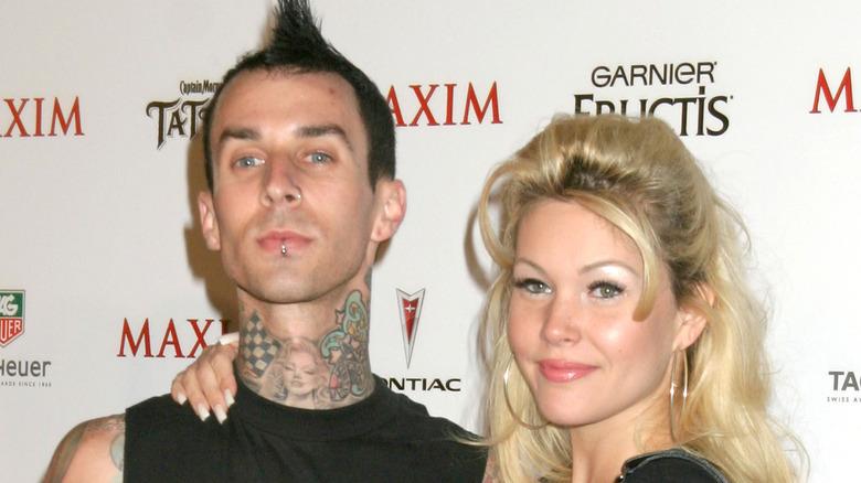 Travis Barker con Shanna Moakler