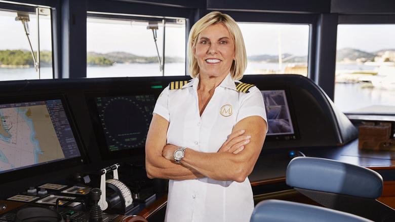 Capitán Sandy Yawn sonriendo