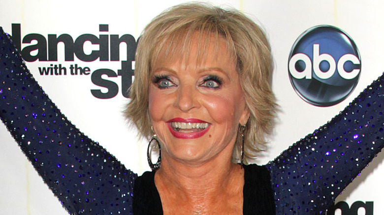 Florence Henderson promocionando Dancing with the Stars