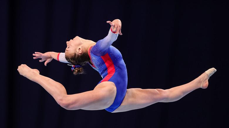 Pruebas olímpicas Grace McCallum