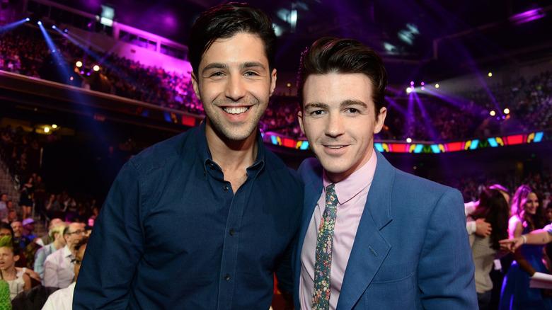 Drake Bell y Josh Peck posan juntos en 2014