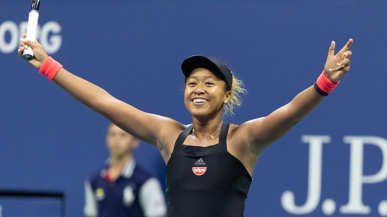 Naomi Osaka en el US Open 2018